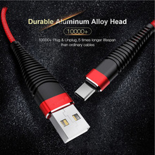 Buy Braided Micro USB Cable,2A TYPE C Fast Charger USB Cable 100CM Mobile Phone Data Cable Iphone Samsung XIAOMI Android Cabo for $2.30 in AliExpress store