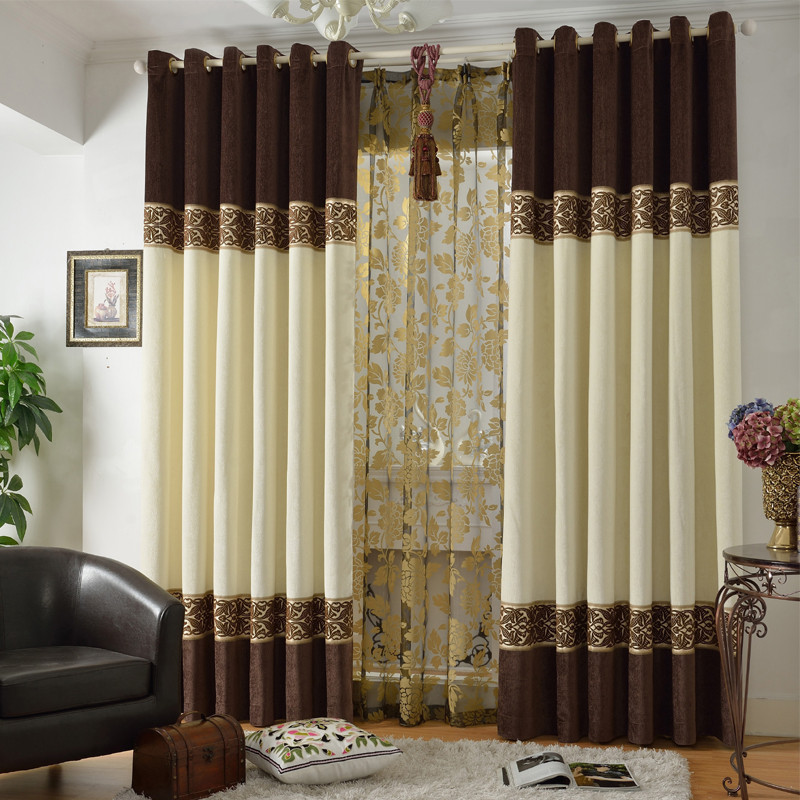 Cortina Hot Home Decoration Quality Chinese Style Blinds Shades Shutters Chenille Cloth Bedroom Curtains For Window In From Garden On