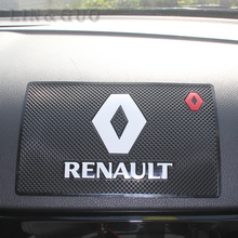 Excellent car non-slip mat accessories case for Renault duster megane 2 logan renault clio car styling