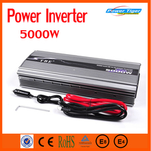 EXW Price 5000W Car inverter Peak Power 10000W DC 12V TO AC 220V Car Power Inverter Adapter Modified sine wave(China)