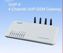 HOT Sales goip 4 gsm gateway Quad Band GOIP-4 GSM Voip gateway 4 SIM Card/Channels Goip GSM VOIP wireless terminal