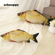 Funny Simulation Carp Kids Plush Toy Stuffed Fish Plush Stuffed Animal Toys Nice Pillow Baby Kids Room Decoration Birthday Gift(China)