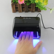 9W LED Nail Gel Lamp Professional Manicure Tool 3 High Power LED Phototherapy Nail Art Equipment Nail Dryers for Nails