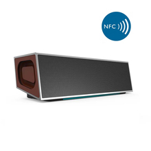 20W Vintage NFC HIFI Deep Bass Wireless Bluetooth Portable Speaker Surround Stereo With LED Light