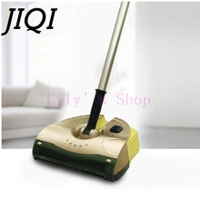 JIQI Handheld drag Cordless electric sweeper rechargeable mopping robot vacuum cleaner sweeping mop cleaning broom 110V 220V EU(China)