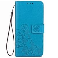 Retro Embossed PU Leather Cover For Wiko U Feel 4G Fundas Wallet Flip Case For Wiko U Feel 4G Card Slot Phone Bag Cases Celular