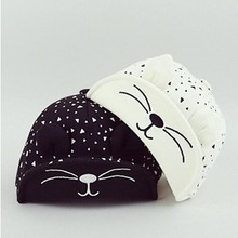 hot baby photography caps Baby Beret Kitten Visor Baseball Cap Casquette Cotton Peaked Hat baby Baseball cap for boys baby hat