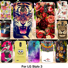 Buy TAOYUNXI Silicone Phone Cover Case LG Stylus 3 Stylo 3 K10 Pro 5.7 inch Cover Fundas TPU Plastic Case Flowers Rose Cat Bag for $1.28 in AliExpress store