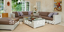 2016  wicker rattan furniture patio furniture sofa outdoor terrace furniture sofa Set