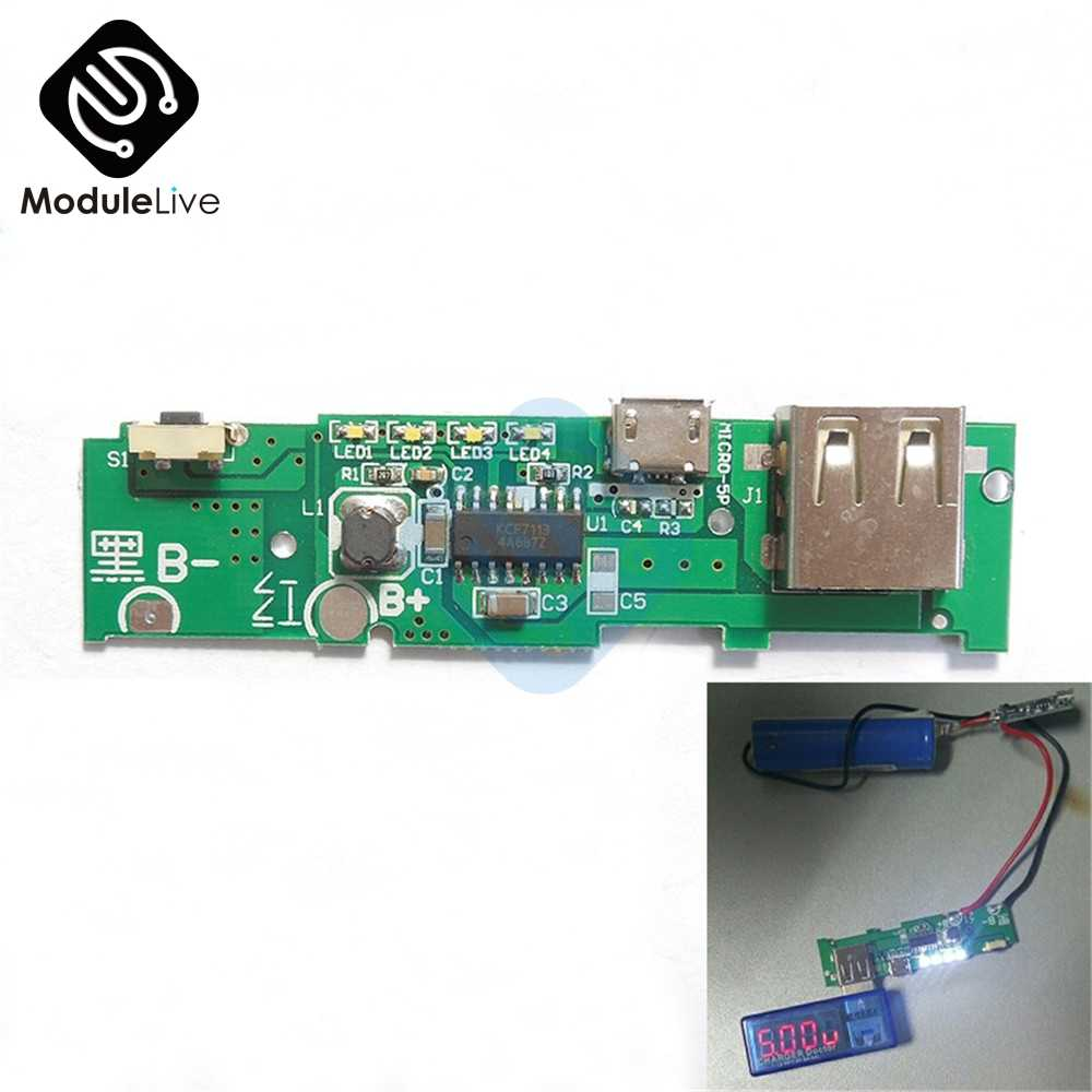 Detail Feedback Questions About 5v 1a Power Bank Charger Pcb Board Mobile The Circuit Module Charging Step Up Boost For Xiaomi