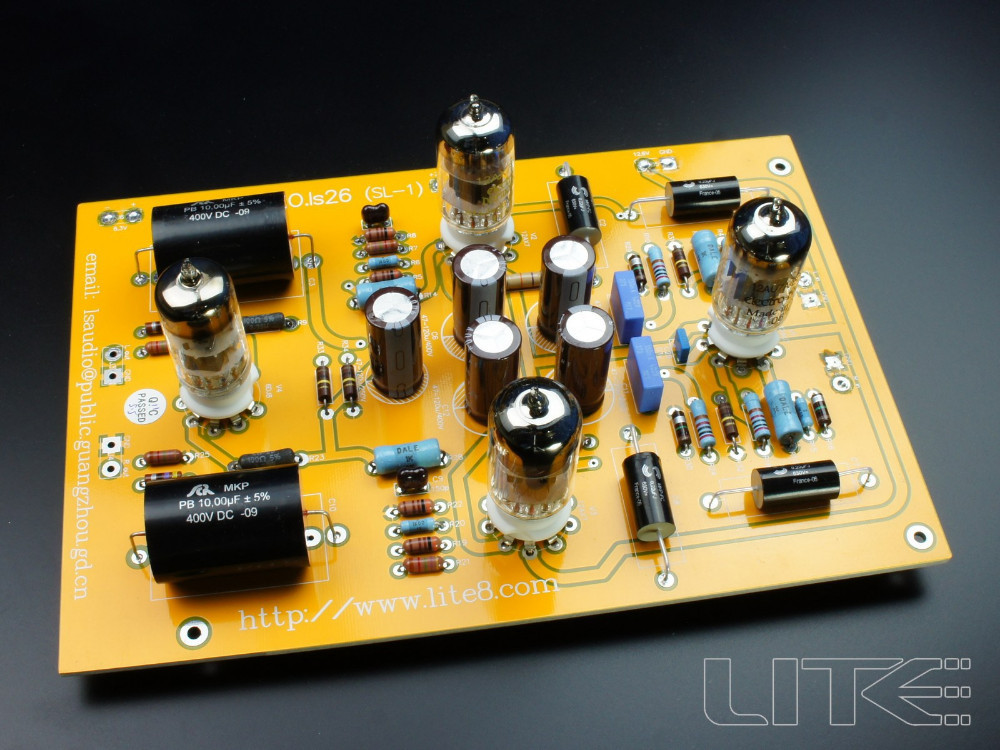 LITE Hi End LS26 (CAT SL-1) tube preamp / preamplifier board without tube<br><br>Aliexpress