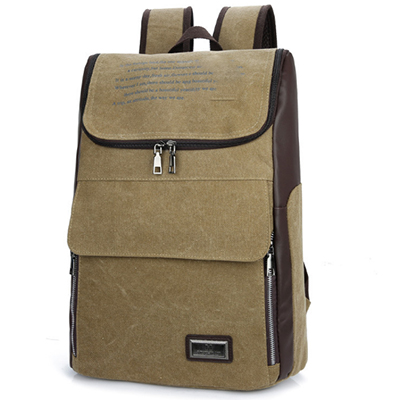 XIYUAN High quality canvas mens backpack male travel bags man vintage rucksack school bags laptop knapsack laptop backpacks<br>