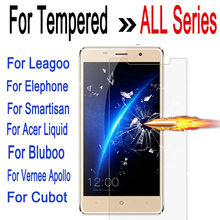 Tempered Glass For Leagoo M5 Z5 Elephone P9000 P8000 Smartisan U1 Acer Liquid Z530 Bluboo Maya Screen Protector Film Case