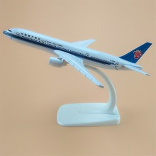 16cm Alloy Metal Air China Southern Airlines Boeing 777 B777 Airways Plane Model Aircraft Airplane Model w Stand(China)