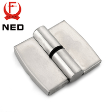 NED Bathroom Partition Stainless Steel Door Hinge Automatic Lift Hinges For Public Toilets Hardware(China)
