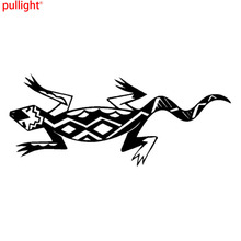 18*7.8CM Fashion Southwest Art Lizard Vinyl Car Stickers Creative Motorcycle Truck Decal(China)