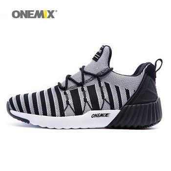 Onemix nuevas zapatillas para hombre transpirable chico weaving 2017 unisex zapatos de deporte zapatillas de deporte aumento de la altura mujeres zapatos que activan
