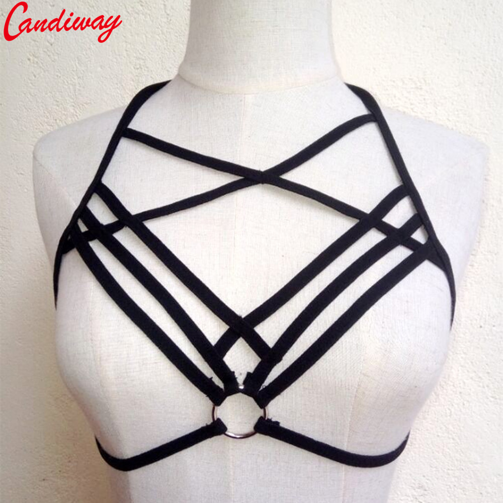 Candiway Breast Harness Sexy Open Bra BDSM Bondage Restraints Strap Sexy Club Sex Toys Product For Woman 1