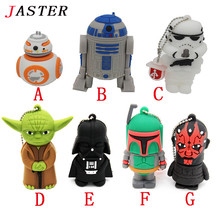 JASTER usb flash drive pen drive pendrive 16g 8g 4g new style pendrive Hot sale Fashion New star war Usb2.0 memory stick drive