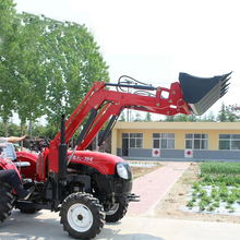 High Quality Tractor With Front Bucket Self-Propelled Backhoe Loader 35HP(China)