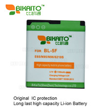 5Pcs/ Lot BL-5F bl 5f 950mAh Rechargeable Mobile Battery Bateria for Nokia 6210si/6210n/6210s/6260s/6290/6710n/e65/n93i/n95
