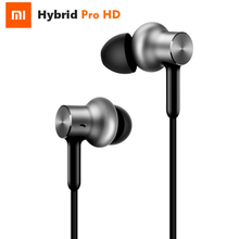 Original Xiaomi Hybrid Pro HD Earphone Circle Iron Mixed Mi Piston Pro With MIC 3 Units Sound For Xiaomi Note 2 MIX Redmi 4
