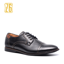 2017 Men Casual Shoes Handmade Breathable Comfortable Jeans Z6 Brand Black Men Shoes #W3186-1(China)