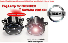 Frontier fog light,2005~2007,2pcs,GENISS halogen light,Free ship! 2005~2008 Latio headlight;Latio