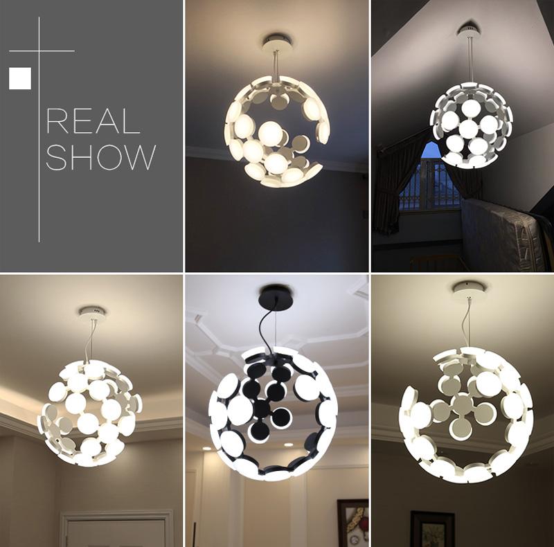 Horsten Nordic Postmodern Creative Pendant Light Art Decoration Personality Dining Room Pendant Lamp LED Hanging Lighting For Cafe Bar (17)