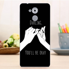 "Plastic Back Cover Case for Huawei Honor 6C Case 5.0"" Shell Hard Slim Hot Cover for Huawei Honor 6C Case"