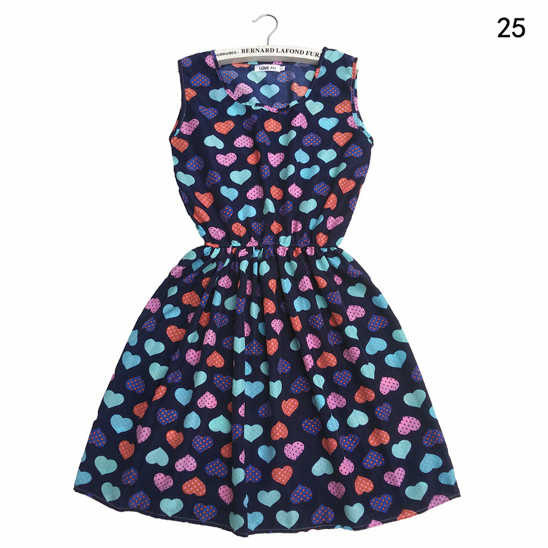 America Spring Casual Women Sleeveless Dress 6