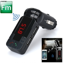 CARPRIE Dual USB Car Kit Charger Wireless Bluetooth Stereo MP3 Player bluetooth handsfree fm transmitter car kit char TJ(China)