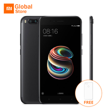 Case Gift Xiaomi Mi 5X Mi5X Mobile Phone 4GB RAM 64GB ROM Snapdragon 625 Octa core Dual Back Camera 12.0MP 1920x1080p Full Metal