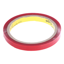 3m x 10mm Width Silicone Double Sided Tape Sticker For Car Double Sided Adhesive Sticker LED Strip Mounting(China)