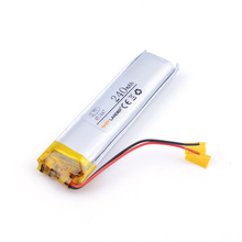 451447 240mAh 3.7v lithium Li ion polymer rechargeable battery For Bluetooth Headset 3D glasses Smart watch Sports bracelet(China)