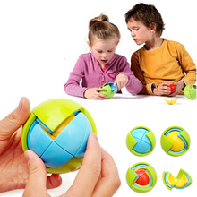 207 New Wisdom Ball for Boys & Girls Brain Teaser Game Toys 3D Puzzle Ball Assembling Magic Cube Rubiks