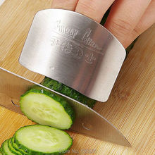 Cooking Tools Stainless Steel Finger Hand Protector Guard Personalized Design Chop Safe Slice Knife Kitchen Accessories(China)