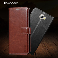 Beworlder For Huawei Y5 II Case Huawei Honor 5A Case PU Leather Case Flip Stand Card Slot Photo Frame Cover For Huawei Y5II Y5 2(China)