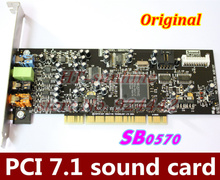 Original  5PCS/LOT  PCI7.1 sound card Creative Audigy SE 64-bit (SB0570) support for Win7 win8    Better than SB0410!