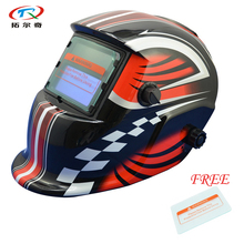 free Shipping auto Darkening welding helmet mask solar welder helmet face welder tool with 1pc protective glass HD02(2233FF)FS