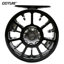 Goture Aluminum Alloy Fly Fishing Reel ELITE 5/6 All Metal CNC Super Light Saltwater Left Right Hand Coil Pesca Carretilha 2+1BB(China)