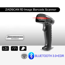 ZADSCAN Bluetooth 3.0 + EDR Wireless Barcode Scanner Handheld Bar-code Reader work with computer smartphone tablet mobile PDA(China)
