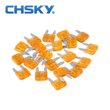 20PCS  with the high quality min auto fuse 5A min car fuse blade 12V S11