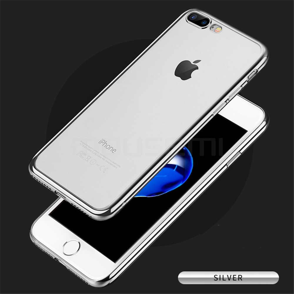 MOUSEMI Phone Cases For iPhone 7 Case Transparent Silicone Plating Soft Cover For iPhone 7 Plus Case For iPhone 77 Plus (10)