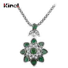 Buy Retro pedants Necklaces 2016 Ladies Fashion Antique Silver Jewelry Inlaid Resin Womens Jewellery for $1.49 in AliExpress store