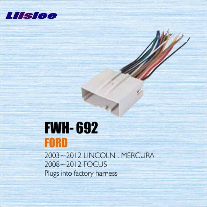 liislee plugs into factory harness for ford for focus 2008  2008 ford focus wiring harness adapter #15
