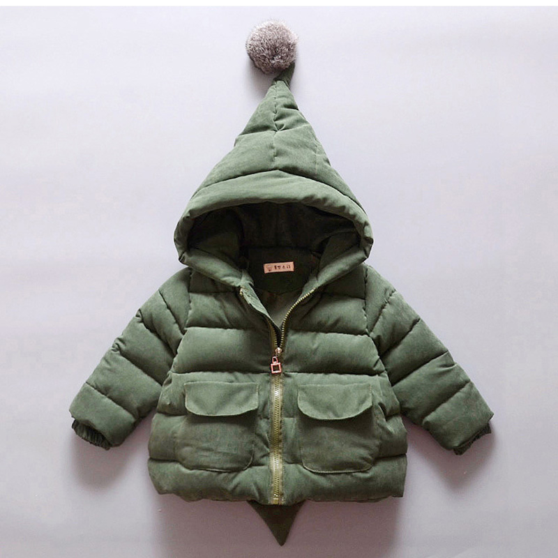 2017 Jackets for Baby boys Winter Thick coat children clothing Kids hoodies  clothes Baby girl parka winter jackets For Girls Îäåæäà è àêñåññóàðû<br><br>