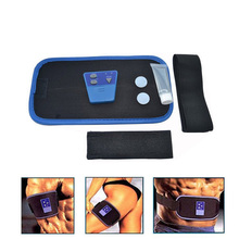 Slimming Body Muscle Massage belt AB Gymnic Electronic leg Waist Massager Arm Belt