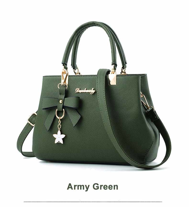 WENYUJH New 18 Elegant Shoulder Bag Women Designer Luxury Handbags Women Bags Plum Bow Sweet Messenger Crossbody Bag for Women 19