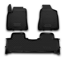 Car floor mats for Ssang Yong New Actyon 2010- high quality no odor rubber rugs non slip rubber interior carpets